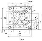 PI M-110.01 Adapter Plate Drawing