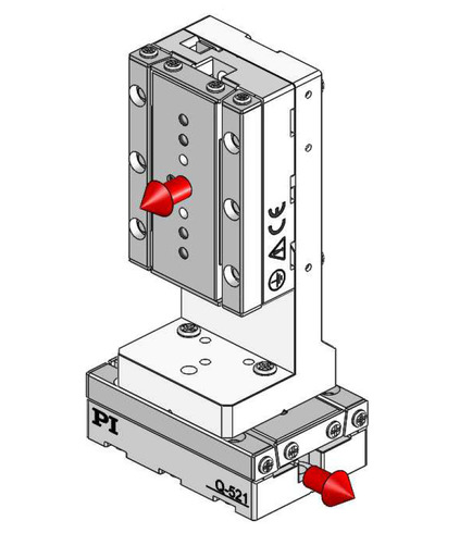 270° orientation of adapter bracket and upper axis to the lower axis